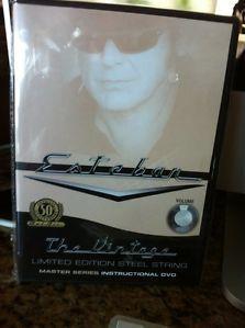 Esteban Vintage Limited Edition Steel String Master Series Instructional DVD