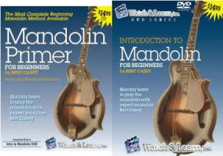 W Introduction to Mandolin Learn Bluegrass DVD Book CD