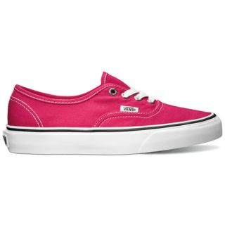 Vans Authentic Shoe Pink footwear Shoes Bright Rose True White All Sizes
