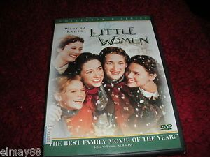Little Women DVD 2000 Collector's Series Multiple Languages Closed Caption 043396050440
