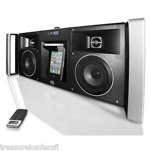 Altec Lansing Digital Boombox Boom Box Stereo FM Radio iPod iPhone Dock Music