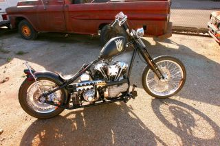 Jesse James West Coast Choppers Single Down Tube 140 CFL Frame