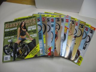 13 Easyriders Magazines Very Good