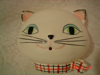 Vintage 1958 Holt Howard Cozy Kitten Kitty Cat String Holder with Label Japan
