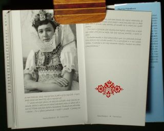 Book Czech Folk Costume Breslav Moravian Ethnic Dress Traditional Fashion Kroj