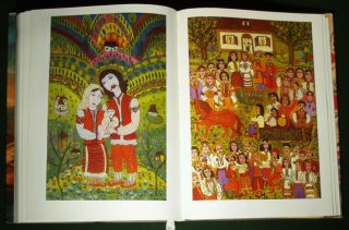 Book Ukrainian Folk Painting Traditional Icon Peasant Art Ethnic Costume Native 0828537925