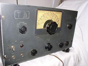Vintage Mackay Marine Radio Receiver Model 128 A