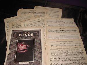 Large Format Sheet Music