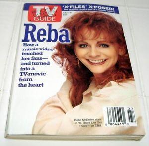 """1994 """"Reba McEntire x Files"""" TV Guide Magazine GFS"""
