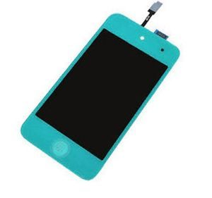 Light Blue iPod Touch 4 4th Generation LCD Digitizer Replacement Button Tools