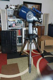 "Meade 10"" F 10 LX200 GPS Schmidt Cassegrain Telescope"