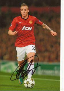 Alexander Büttner Manchester United Foto Mit Unterschrift 143651 Mik