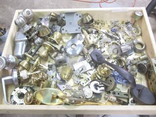 Locksmith Stuff Large Lot Keys Locks Cylinders Deadbolts Mortise Locks Tumblers