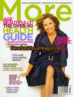 More 5 07 Katie Couric CBS News Today May 2007 New