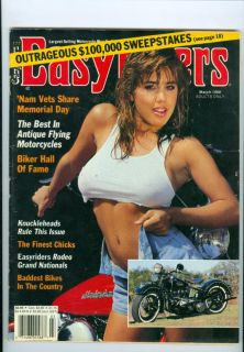 1988 Easyriders Magazine Knuckleheads Rule This Issue Finest Chicks Baddest