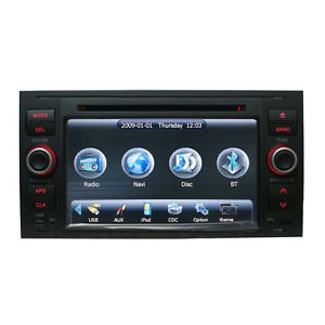 Double DIN Car DVD GPS Navigation Auto Radio for Ford Transit s Max Galaxy