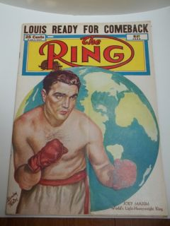 The Ring Boxing Magazines 1950'S