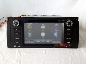 BMW E39 M5 E53 in Dash Autoradio with GPS Navigation Stereo DVD Bluetooth