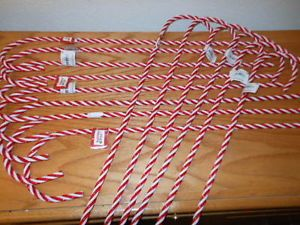 Candy Canes Christmas Yard Decor Home Accents Yard Path Markers Set of 7 Pcs