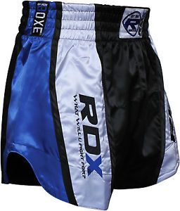 RDX Pro Muay Thai Fight Shorts MMA Grappling Kick Boxing Trunks Martial Arts Gym