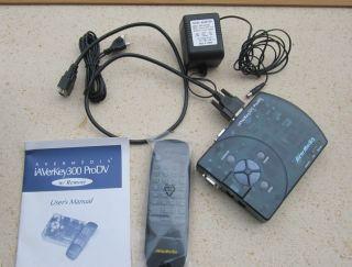 Avermedia Iaverkey 300 Prodv Plug Play Computer to TV Converter 0795522958563