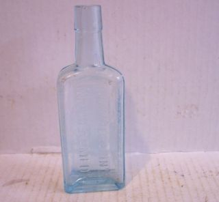 Old Medicine Bottle Chamberlain's Cough Remedy Des Moines Iowa