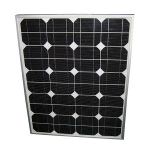 50W 18V Solar Module Panel DC 12V Battery Charger Off Grid Remote Power Supply
