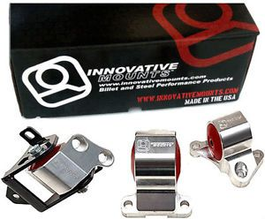 Innovative Motor Mounts Kit Civic 96 00 EK 2 Bolt Post Mount Billet