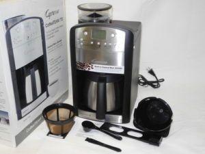 Capresso Coffee Team Ts Manual