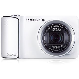 Samsung Galaxy EK GC110 Digital Camera White 16GB Case 887276847795