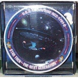 Star Trek Next Gen Enterprise D Porcelain Mini Plate