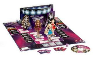 Bratz Passion for Fashion Runway Board Game Models Music Girls Doll Fun