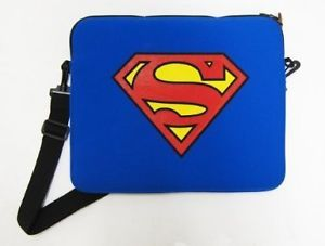 New Superman Logo Blue Laptop Sleeve Bag