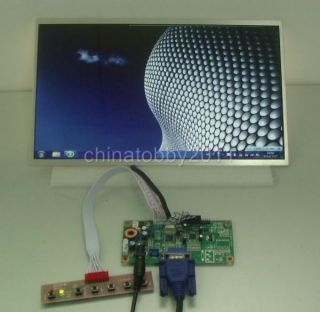 VGA Driver Board 12inch HSD121PHW1 WXGA LCD 1366 768 LED Backlight for Laptop