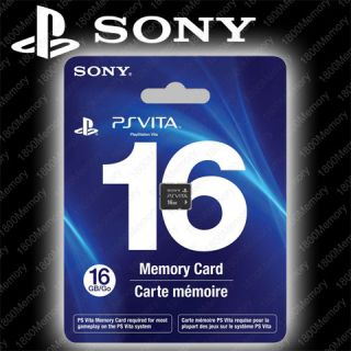 Genuine Sony 16GB PSVita PS Vita PlayStation Game Memory Card 16g Go PCH Z161