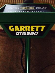 about Garrett Ultra GTA 350 Metal Detector Treasure Finder Works Deep