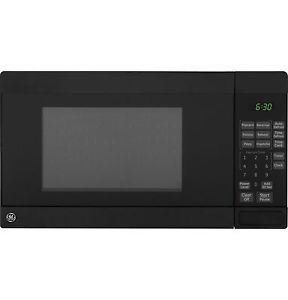Small Countertop Microwave Dimensions : Black Compact Microwave Oven w/ 07. cu. ft. Capacity JE740DRBB