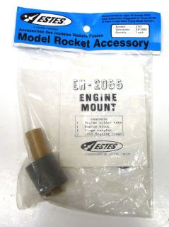 about NEW Estes Model Rocket Building Accessories Engine Mount EM 2055
