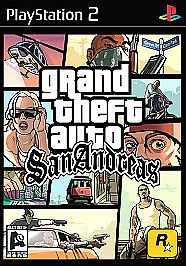 Grand Theft Auto San Andreas Sony PlayStation 2