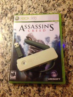 Xbox 360 Wireless Networking Adapter White Bonus Assassins Creed