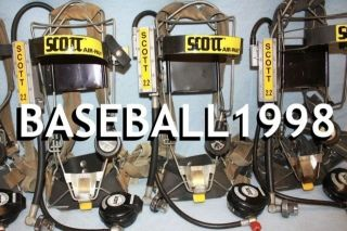 Scott 2 2 Wire Frame Air Pack SCBA Harness 2216 Air Pak Low Pressure