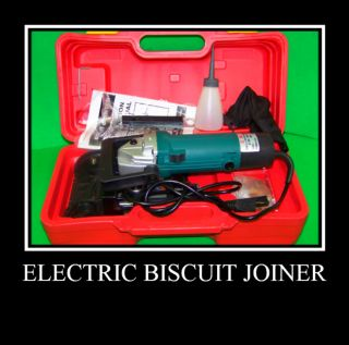 Electric Biscuit Joiner Jointer Woodworking Power Tools