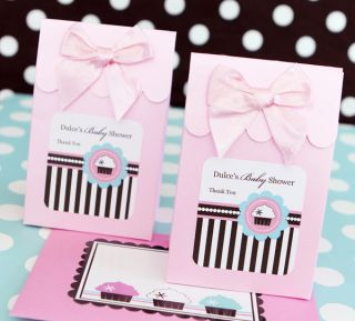 24 Cupcake Sweet 16 Birthday Baby Bridal Shower Party Candy Buffet Favor Bag Box