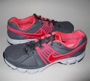 New Nike Downshifter 5 Sz 7 5 Running Training Sneakers Women's Neon Pink Gray
