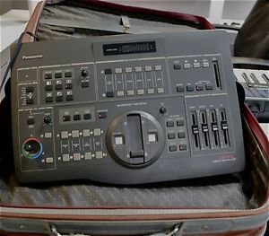 Panasonic WJ Ave 7 Video Mixer Multi Camera Switcher with Travel Case