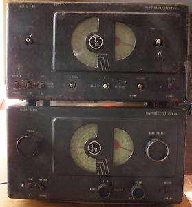 2 Hallicrafters Radio Receivers