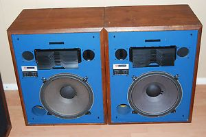 "JBL 4333B Professional Series ""Blue Fronts"" 15"" Monitors Lens Highs Horn Mids"