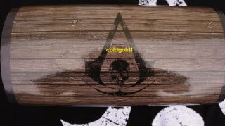Assassins Creed IV Black Flag Treasure Chest Press Kit Launch Kit Xbox PS3 Promo