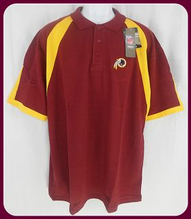Washington Redskins NFL Polo Golf Shirt Big Tall Sizes