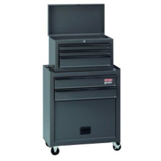 Craftsman Tool Box Chest 5 Drawer Case Cabinet Portable Rolling Wheels Storage